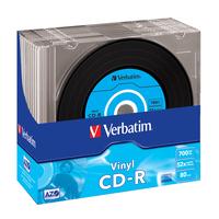 Verbatim CD-R AZO Data Vinyl CD