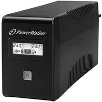 PowerWalker VI 850 LCD Onduleur - Noir