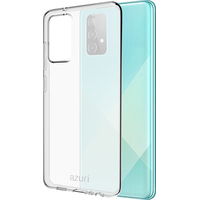 Azuri TPU cover - transparent - voor Samsung Galaxy A52 - Transparant