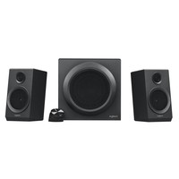 Logitech Z333-speakersysteem met subwoofer Luidspreker set - Zwart