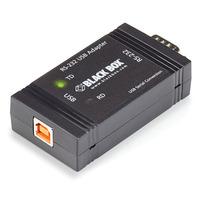 Black Box USB to RS-232 Opto-Isolator Adaptateur de câble - Noir