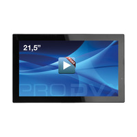 "ProDVX SD-22 22"" Integrated Video Display 21.5"" 1920 x 1080 Afficheurs sur pied - Noir"