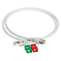 APC 3m UTP Cat5e Cable Câble de réseau - Gris