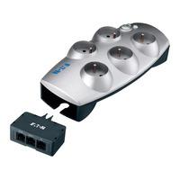 Eaton Protection Box 5 Tel@+TV FR-B Spanningsbeschermer - Zilver