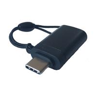 Kindermann Klick + Show USB-C Cap - Zwart