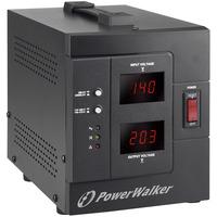 PowerWalker AVR 1500/SIV Régulateur de tension - Noir