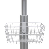 Ergotron SV Wire Basket, Small Accessoires panier multimédia - Blanc