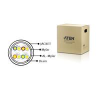 ATEN Shielded Digital Video Extension Cable - 24 AWG, PVC, black Câbles KVM - Noir