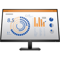 HP P27q G4 QHD Height Adjust Monitor Moniteur - Noir