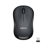Logitech M220 Silent Computermuis - Houtskool
