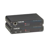 Black Box LRX KVM EXTENDER - DVI, USB - Zwart