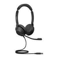 Jabra Evolve2 30, USB-A UC Stereo Headset - Zwart