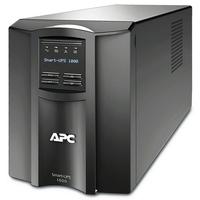 APC Smart-SMT1000IC Noodstroomvoeding - 8x C13, USB, SmartConnect, 1000VA UPS - Zwart