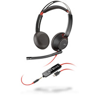 POLY Blackwire 5220 Headset - Zwart