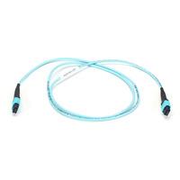 Black Box 1m MTP Câble de fibre optique - Turquoise