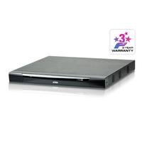 Aten 16 ports Multi-Interface Cat 5 sur IP accès de partage 1 local/2 distants Commutateur KVM - Noir,Gris