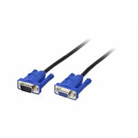 ATEN 2L-2403 - VGA M/F 3m - Bleu,Gris