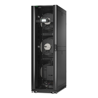 APC 42U, InRow RC, 600mm, Chilled Water, 380-415V, 50/60Hz Hardware koeling accessoire - Zwart