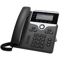 Cisco 7821 Téléphone IP - Noir, Argent