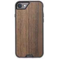 Limitless 2.0 Case iPhone SE (2020) / 8 / 7 / 6(s) - Walnut - Donkerbruin hout