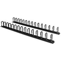 StarTech.com Panneau de gestion de câbles 0U de 1,8 m pour rack - Guide-câbles avec anneaux Accessoire de .....