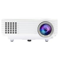 Salora Een compacte voordelige LED met ingebouwde TV tuner voorzien van 800 lumen Beamer - Wit