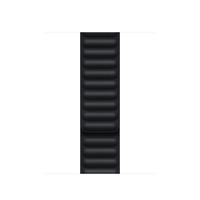 Apple Leather Link-bandje - Middernacht (41 mm) - S/M - Zwart