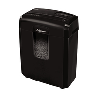 Fellowes Destructora 8Mc Déchiqueteuse - Noir