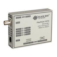 Black Box FlexPoint 10BASE-T to BNC Media Converter, 10-Mbps UTP to ThinNet Convertisseur réseau média