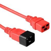 ACT C19 - C20, 1.80m Cordon d'alimentation - Rouge