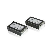 Aten HDMI/USB Cat 5 Verlenger (1080p op 40 m) AV extenders - Zwart
