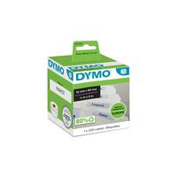 DYMO LW - Labels voor hangmappen - 12 x 50 mm - S0722460 Etiket - Wit