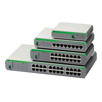 Allied Telesis AT-FS710/8-50 Switch - Gris