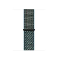 Apple Boucle Sport Nike Cramoisi ultime/Vert neptune 40 mm - Pourpre, Vert