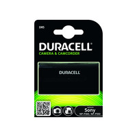 Duracell Camera batterij 7,2V (2600 mAh) oplaadbaar - Zwart