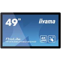 "Iiyama TF4938UHSC-B2AG, 48.5"", 3840x2160, IPS LED, 16:9, projective capacitive, VGA, DVI, HDMI, DP, RS-232C, ....."