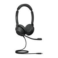 Jabra Evolve2 30, USB-C UC Stereo Headset - Zwart