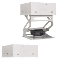 Chief SMART-LIFT Automated Projector Mount For Suspended Ceiling installations, Int'l use, 220V, White Plafond & .....