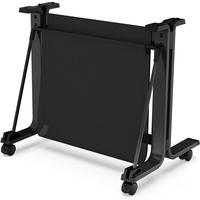 HP Pied et bac de réception pour imprimante DesignJet T200/T600 24 pouces Meuble d'imprimante - Noir
