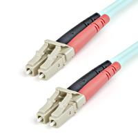 StarTech.com Câble / Jarretière fibre optique duplex multimode 50/125 OM3 de 1m - LC vers LC - LSZH - .....
