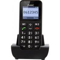 Fysic FM-6700 Big Button Comfort GSM Black actie pakket 5+1 gratis Diverse hardware