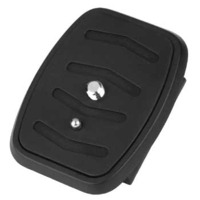 Hama Quick Release Plate fors Star 55/56/57 with Videopin Tripod - Zwart