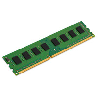 Kingston Technology ValueRAM 4GB DDR3 1600MHz Module Mémoire RAM - Vert