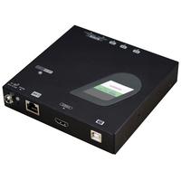 ROLINE KVM verlenging via Gigabit Ethernet, HDMI, USB, zender - Zwart