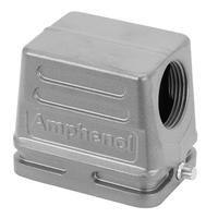 Amphenol NBR, PA, IP65, M20 Multipolaire connectie behuizing - Metallic