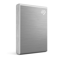 Seagate One Touch 500GB, USB 3.1 Type-C, Silver - Argent