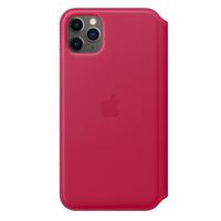 Apple Leren Folio-hoesje voor iPhone 11 Pro Max - Framboos - Bessen