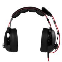 ARCTIC P533 Racing Headset - Zwart,Rood