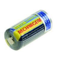 2-Power Camera Battery, 3 V, 500 mAh, Lithium ion, 34 mm x 16 mm, 17 g