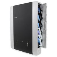 Ergotron 10 devices, 10.1'', 30-Pin, 2.4A, USB 2.0, iPad, 17.9kg - Noir,Argent